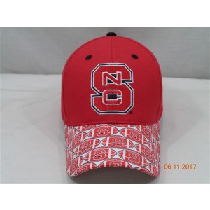 North Carolina State University Baseball Cap-Red