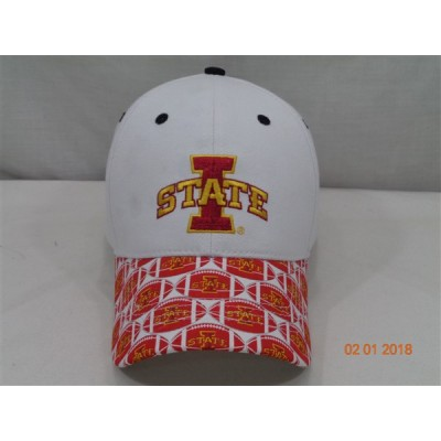 Iowa State Baseball Cap-White
