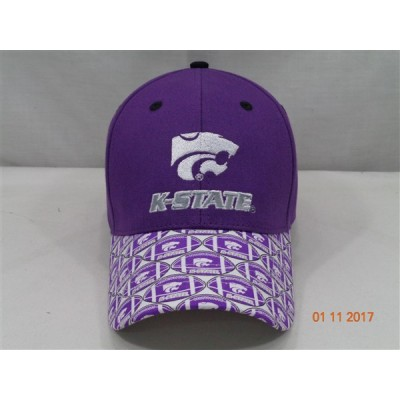 Kansas State University Baseball Cap-Purple