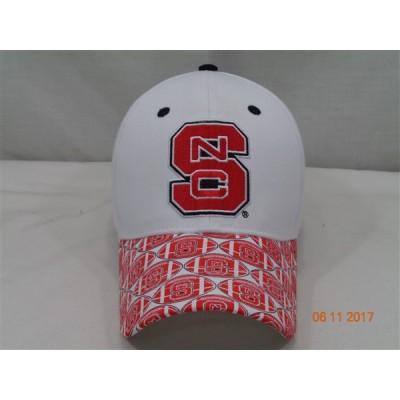 North Carolina State University Baseball Cap-White